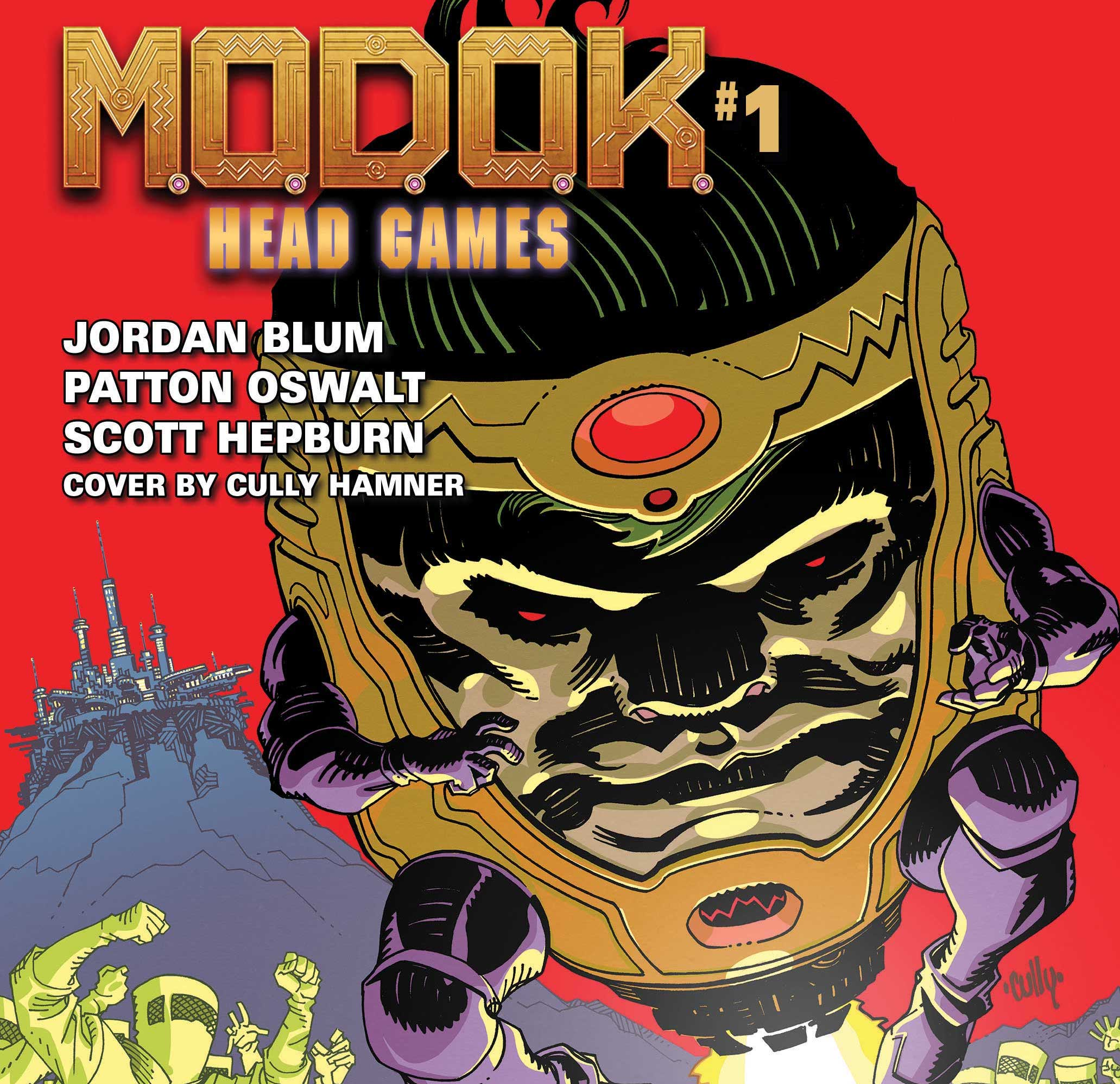 Marvel launches 'M.O.D.O.K.: Head Games' teaser