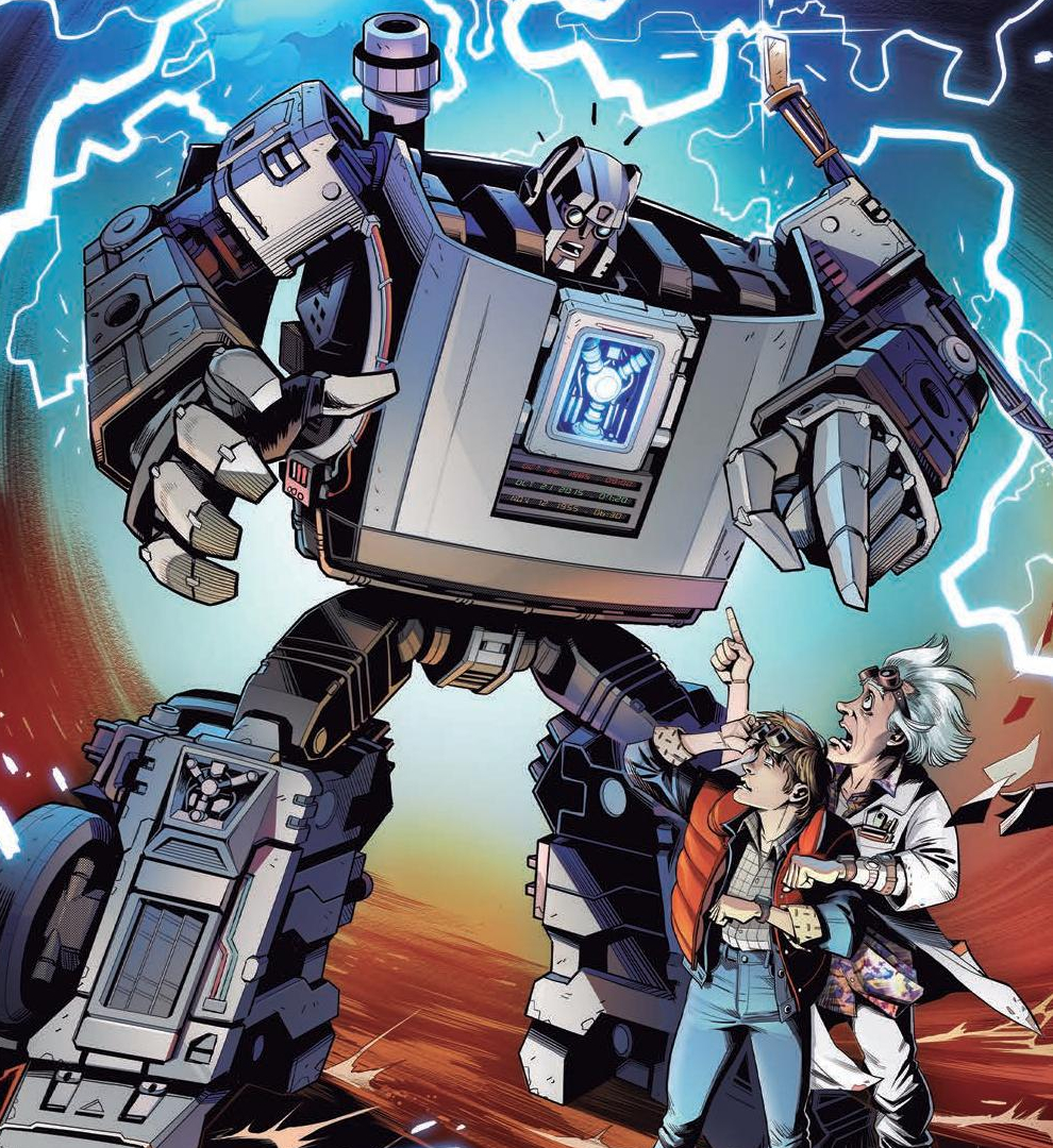 Transformers/Back to the Future #1