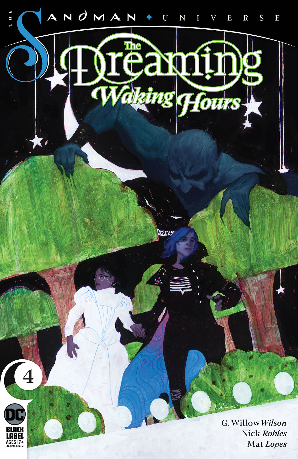 DC Preview: The Dreaming: Waking Hours #4
