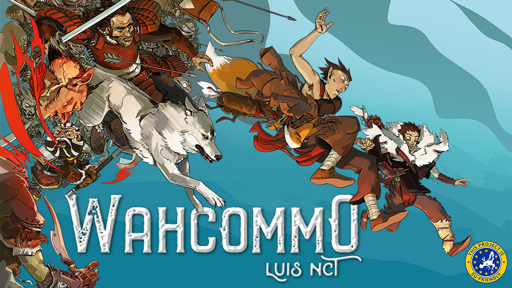 Kickstarter Alert: Magnetic Press launching 'Wahcommo' by Luis NCT