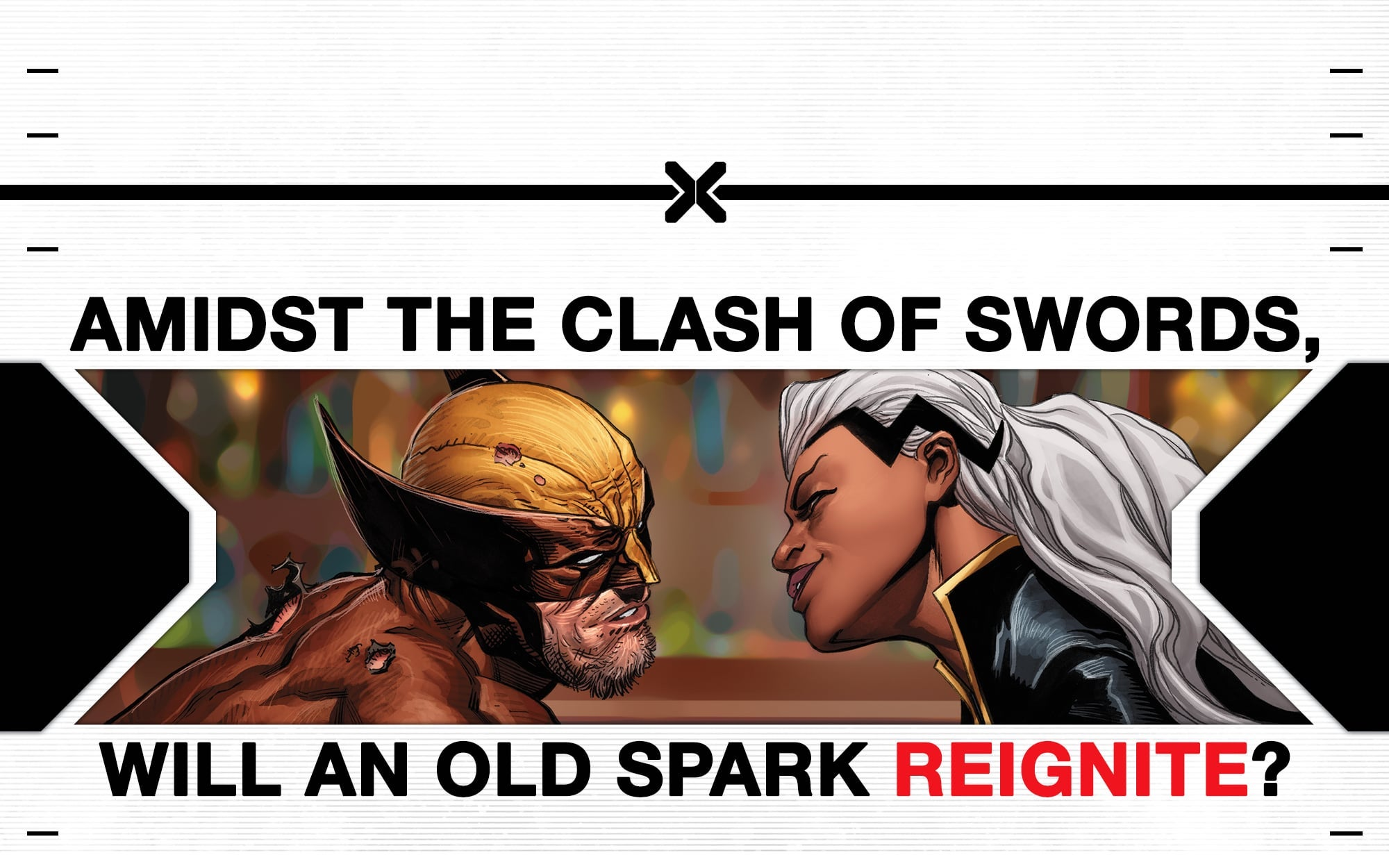 Marvel Comics teases Storm and Wolverine romance in 'X of Swords' teaser