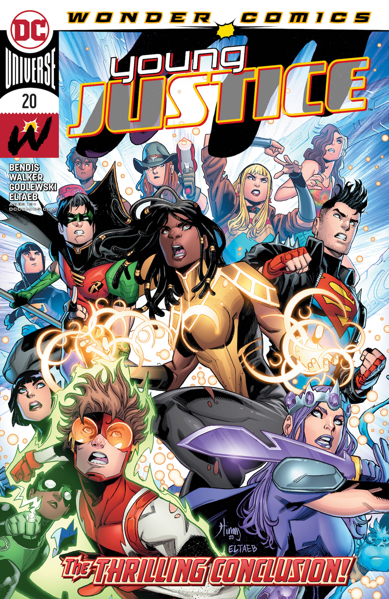 DC Preview: Young Justice #20