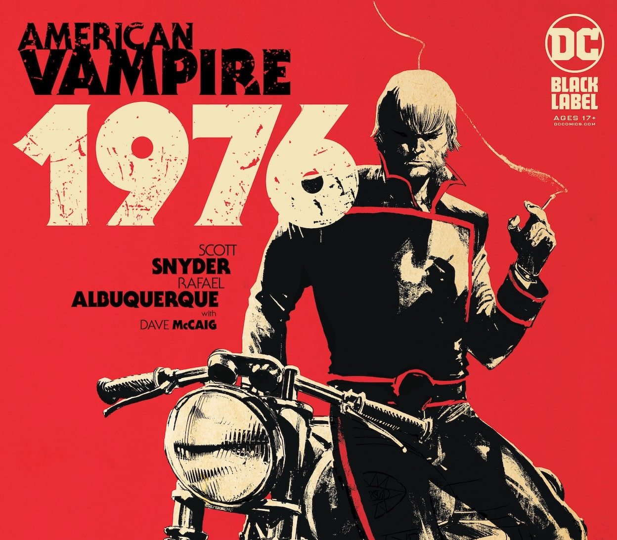 """""""It's my favorite series I've ever done"""": Scott Snyder talks the creator-owned 'American Vampire 1976'"""