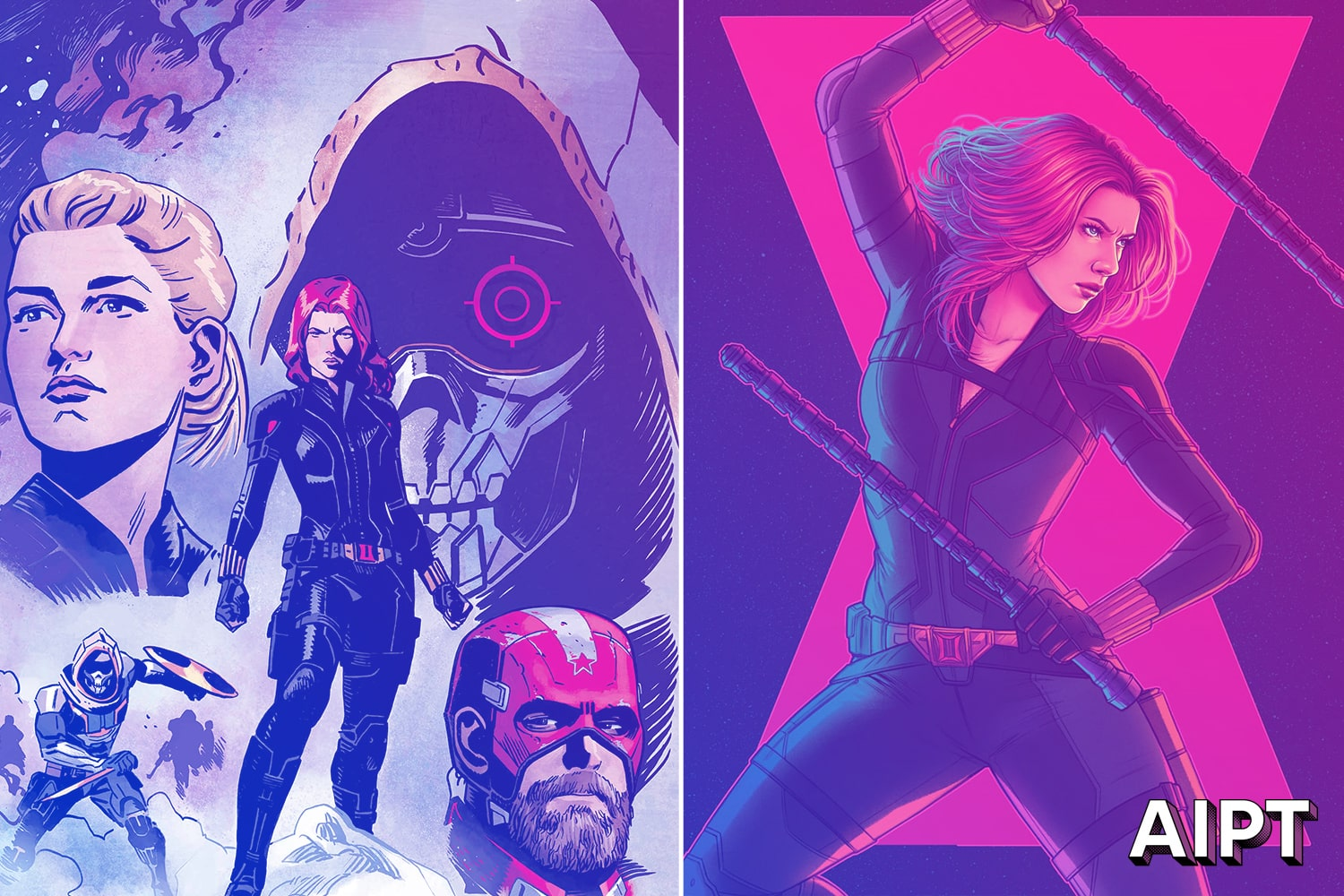 'Black Widow' cinematic universe variant covers coming October 2020