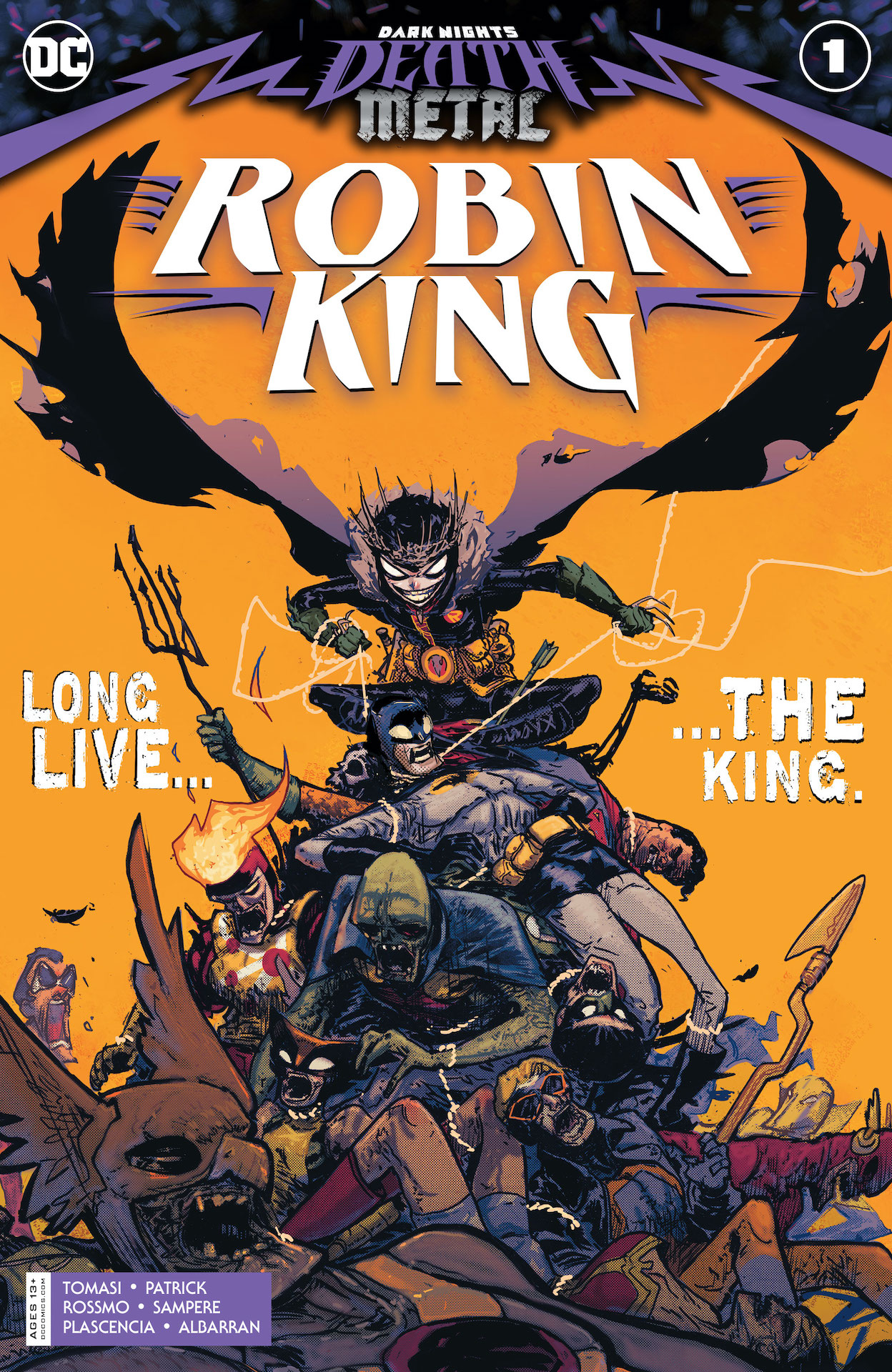 Dark Nights: Death Metal Robin King