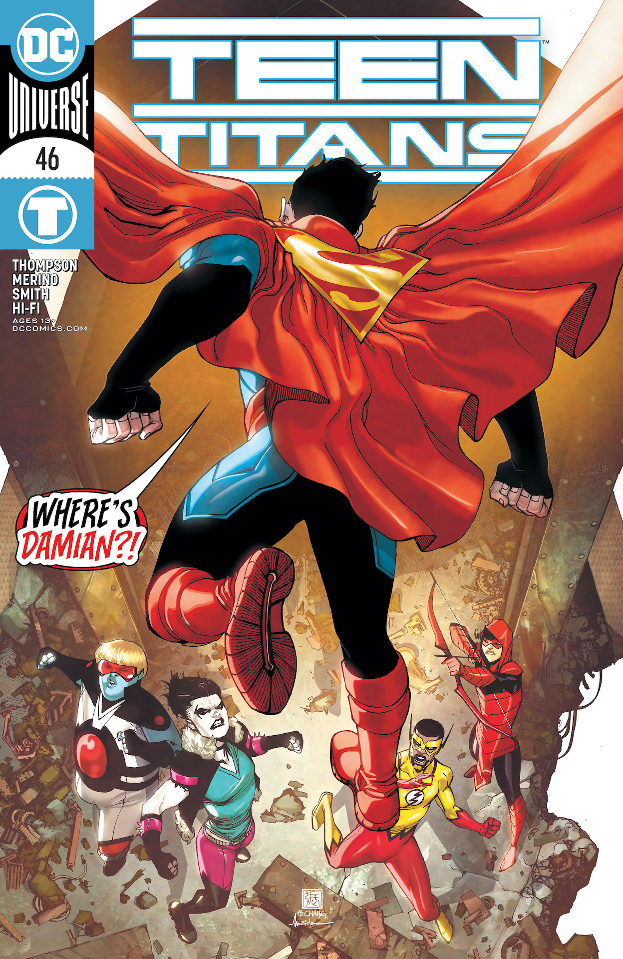 DC Preview: Teen Titans #46