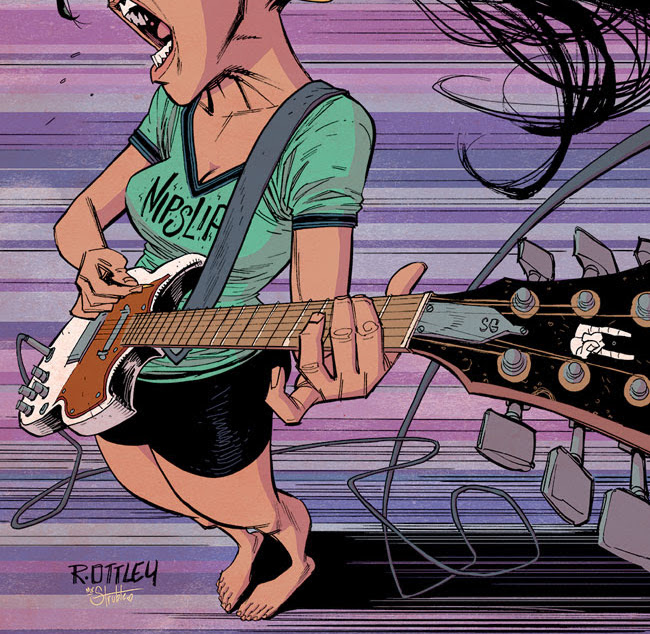 Image Comics wants you to rock out with Ryan Ottley 'Getting it Together' cover