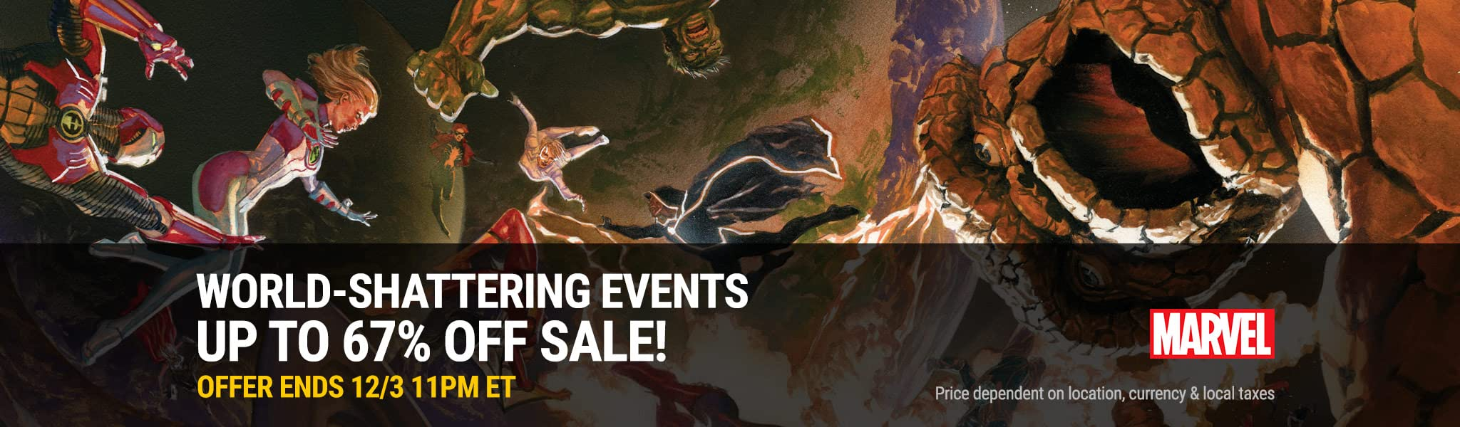 ComiXology offering massive Black Friday sale off Marvel Comics' event comics series
