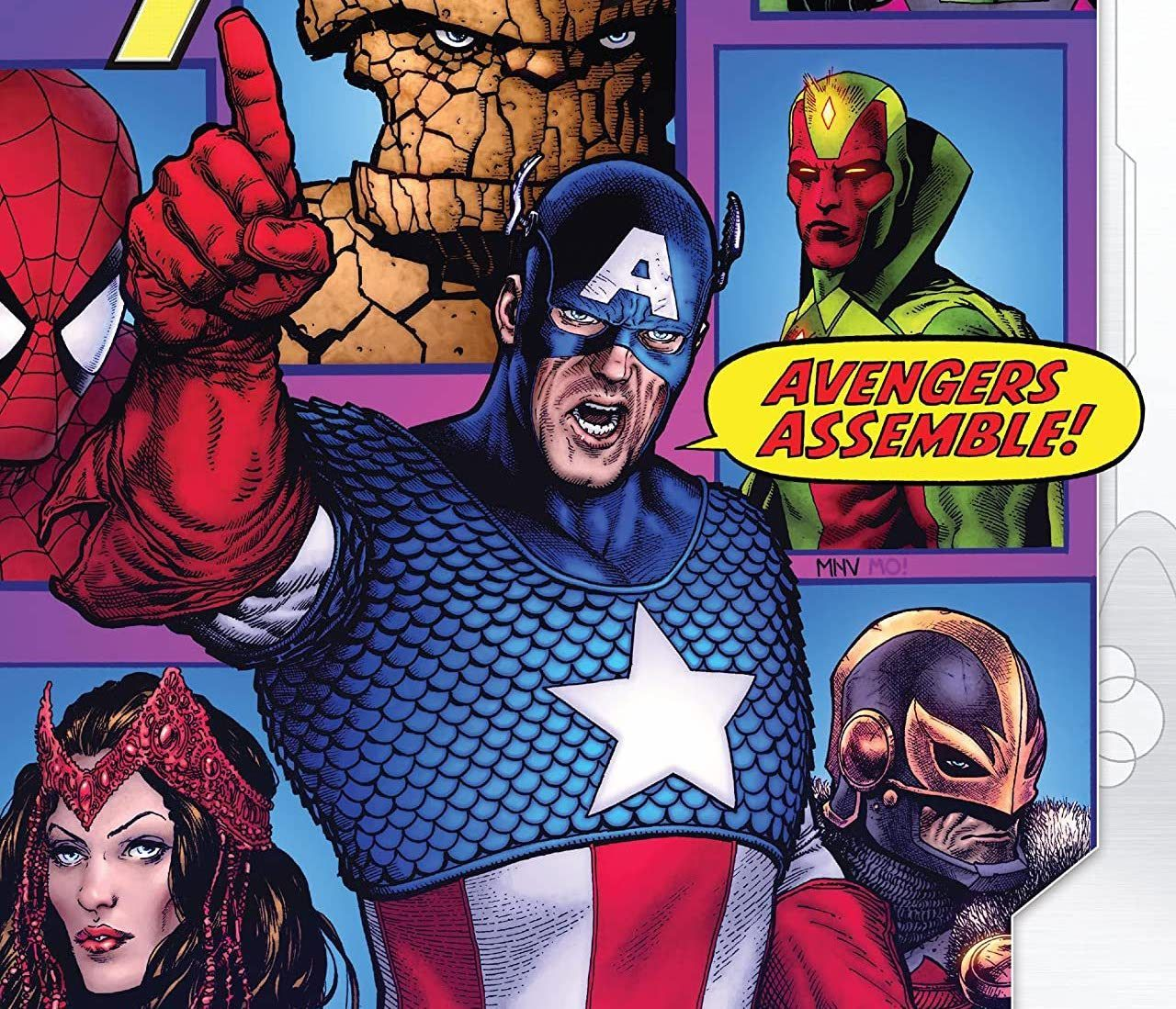 Empyre: Captain America and The Avengers