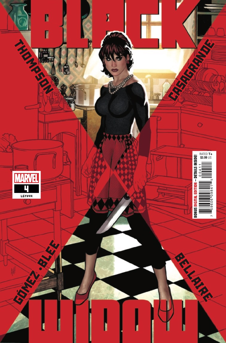 Marvel Preview: Black Widow #4