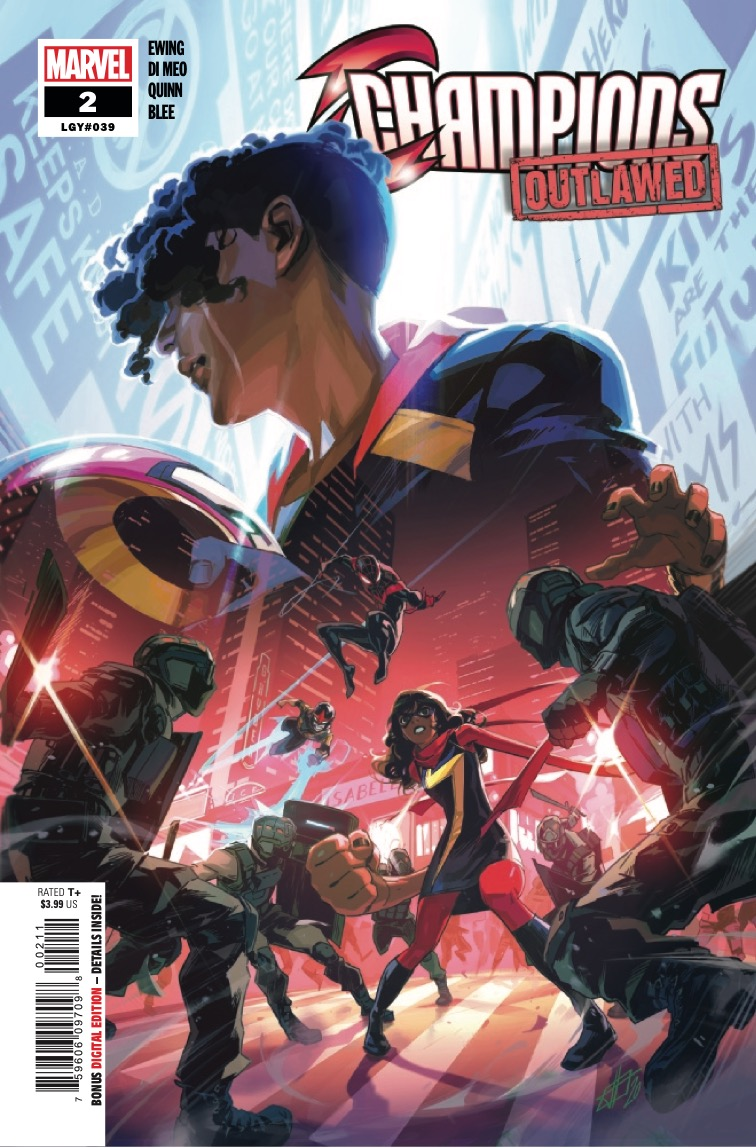 Champions #2 2020 preview