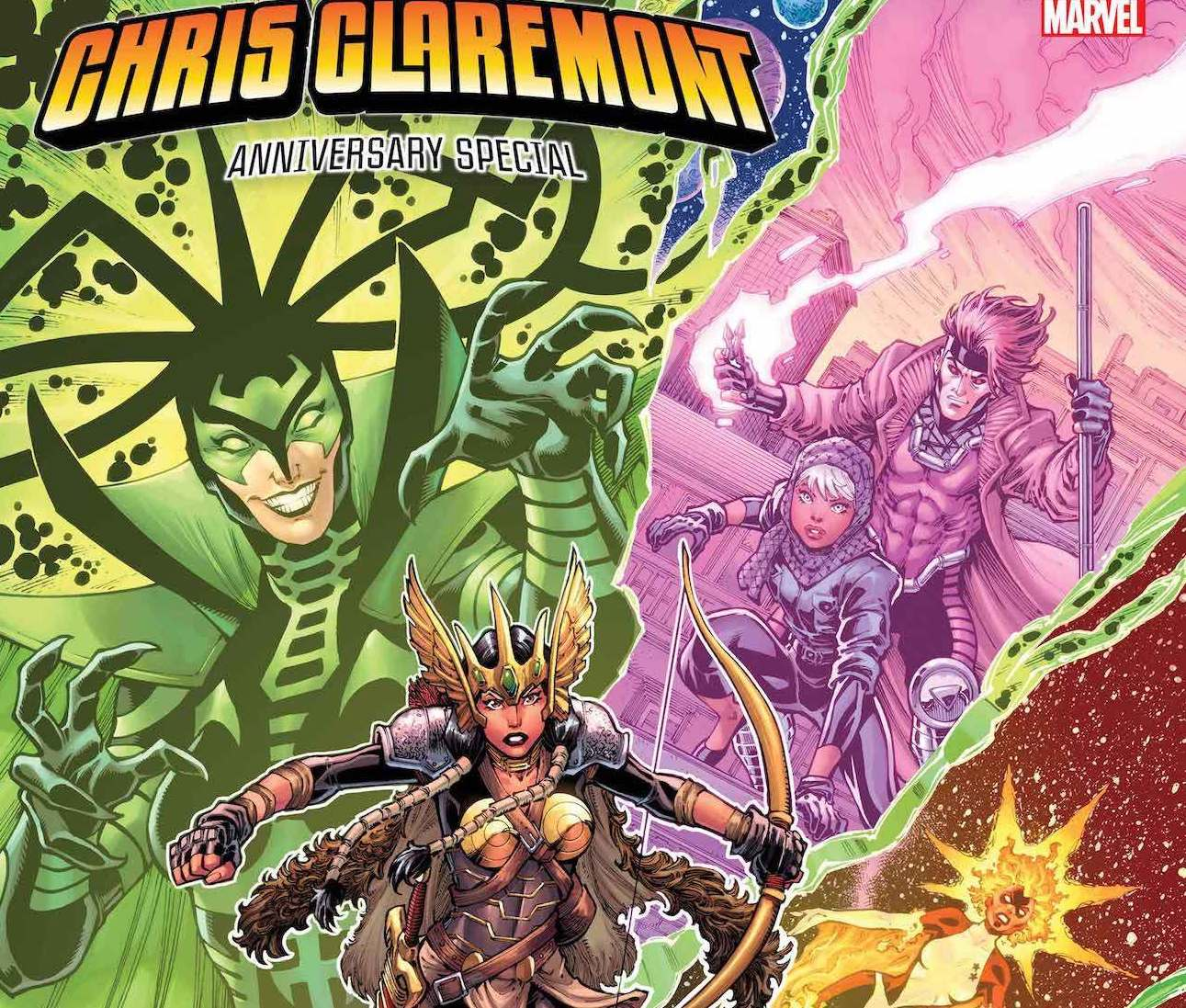 Marvel First Look: Chris Claremont Anniversary Special featuring art by Todd Nauck