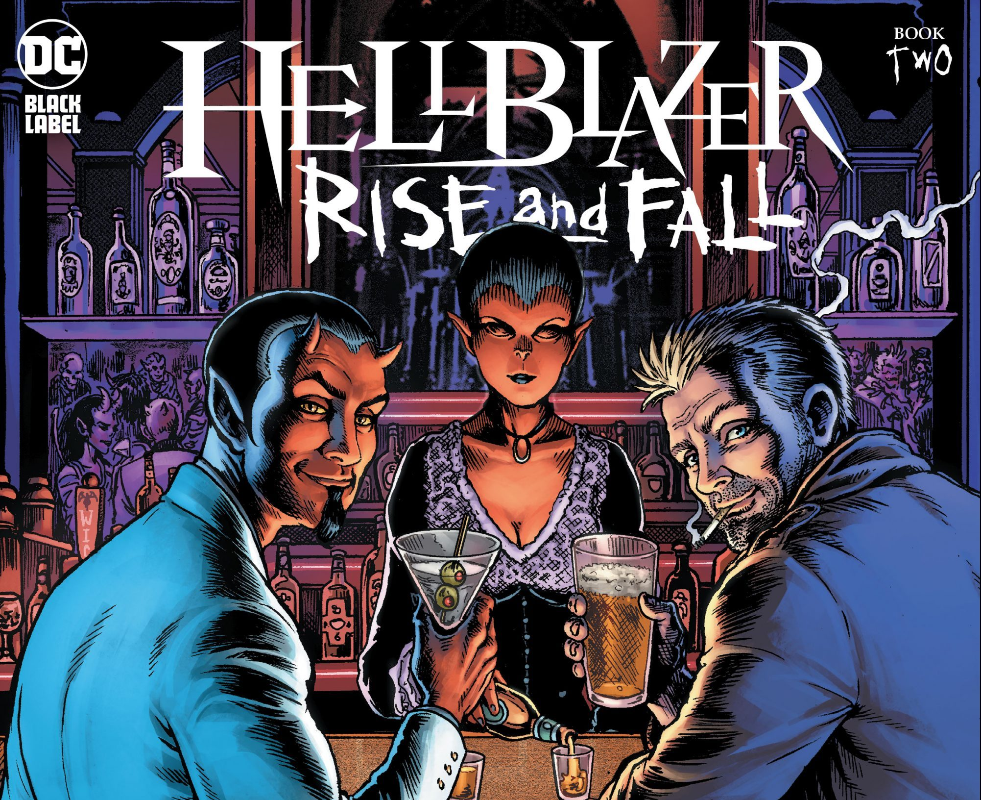 'Hellblazer: Rise and Fall' #2 review