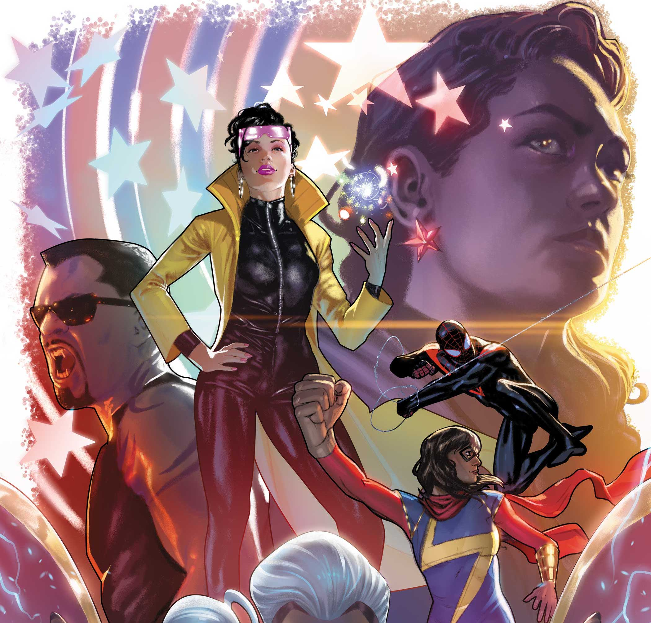 Marvel Comics to celebrate Black History Month with 'Marvel's Voices: Legacy' #1