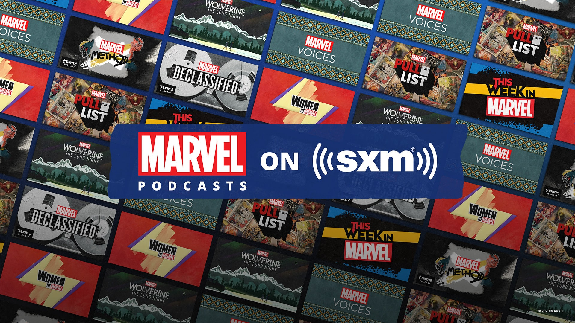 Marvel Entertainment launching podcasts exclusive to SiriusXM today through 2021