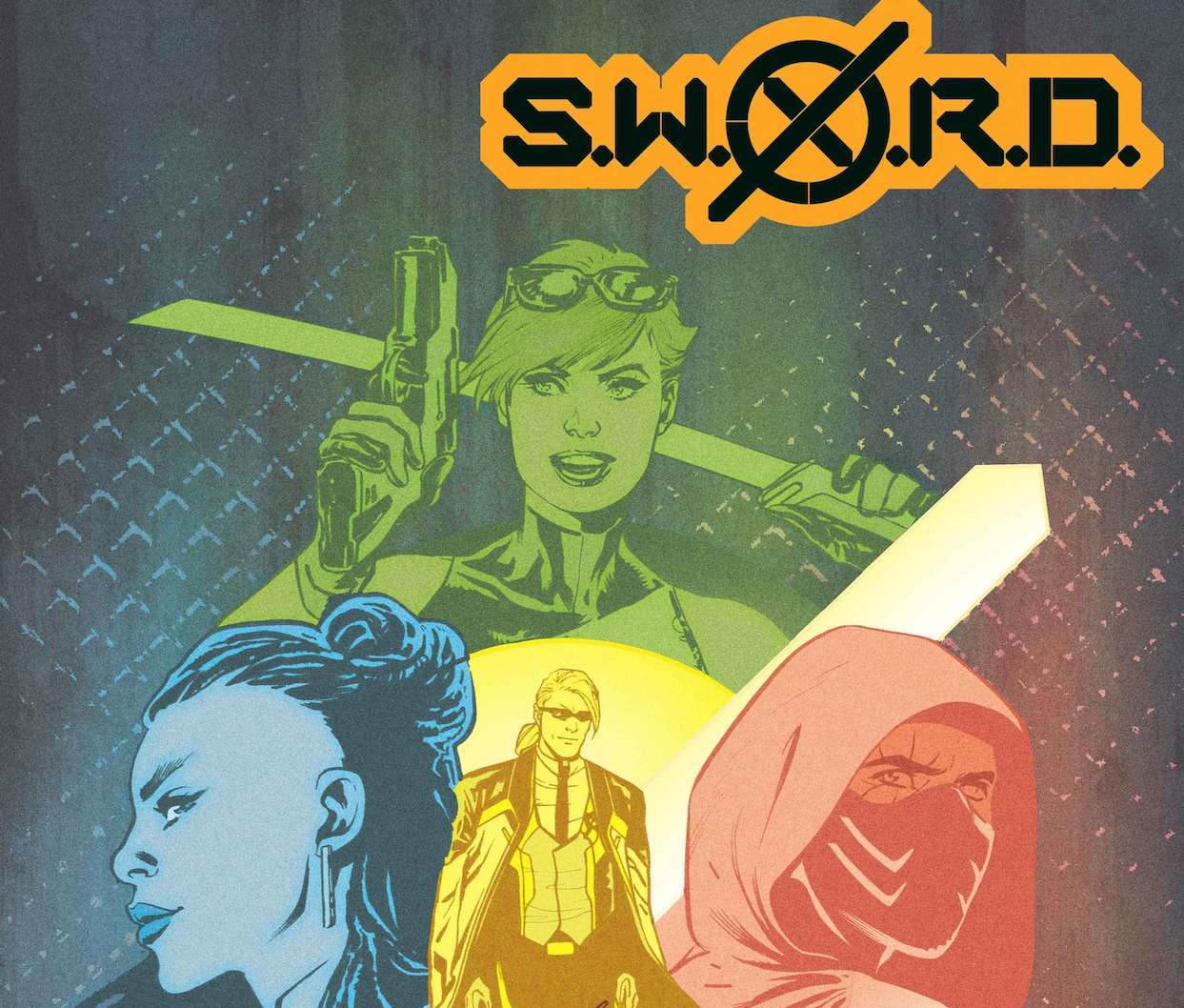 EXCLUSIVE Marvel First Look: S.W.O.R.D. #1 variant by Lupacchino and Bellaire