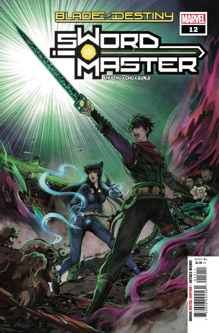 Marvel Preview: Sword Master #12