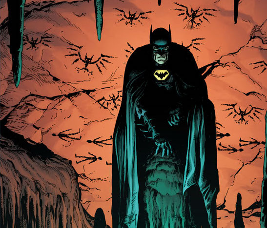 Geoff Johns and Gary Frank team up for 'Batman: Earth One' Vol. 3