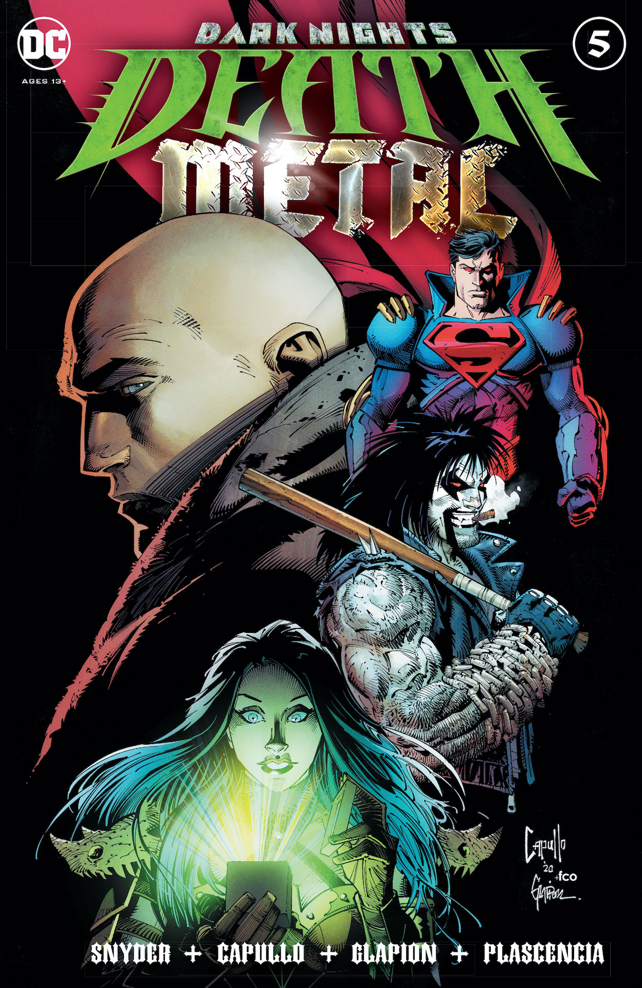 DC Preview: Dark Nights: Death Metal #5