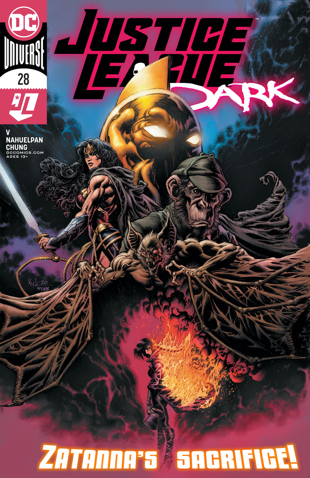 DC Preview: Justice League Dark #28