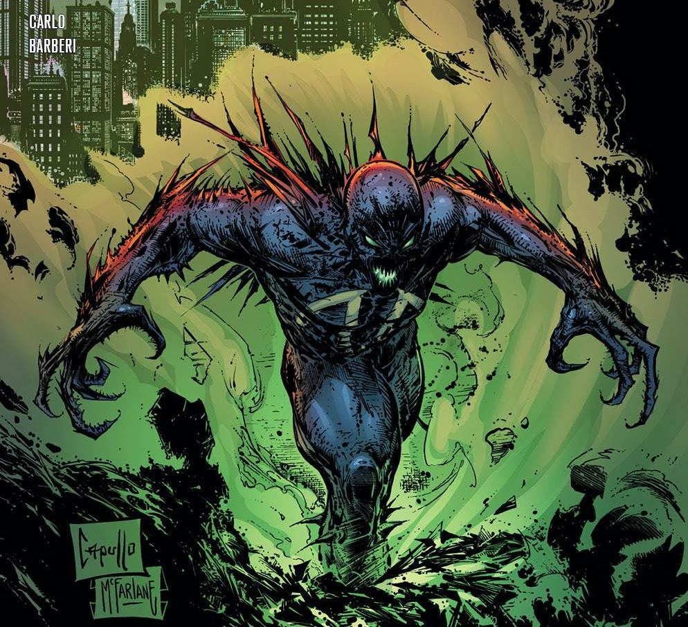 Greg Capullo returns to 'Spawn' with new variant covers over 4 issues