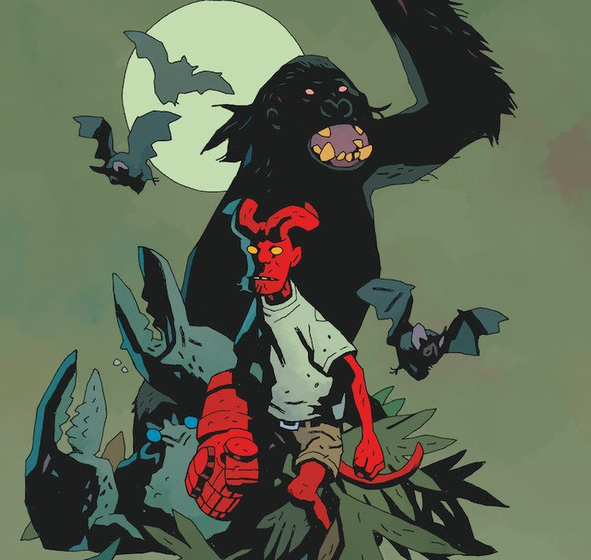 Dark Horse announces 'Young Hellboy: The Hidden Land' for February 2021