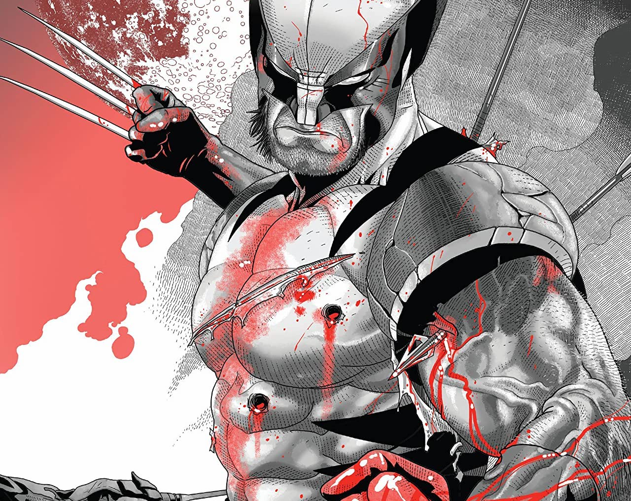 'Wolverine: Black, White & Blood' #2 review