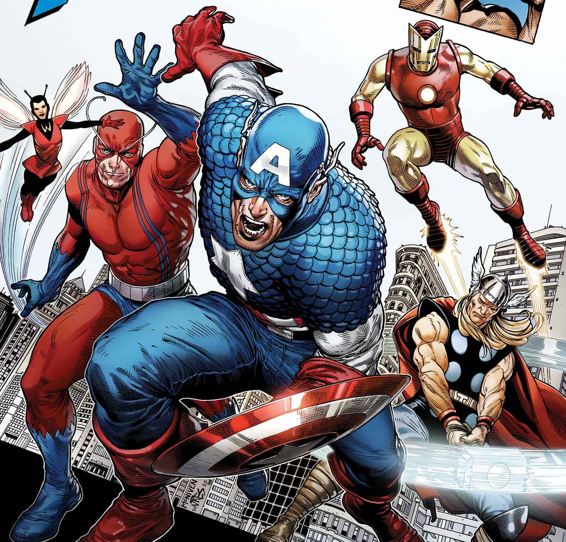 Marvel celebrating 80 years of Captain America with giant-sized tribute