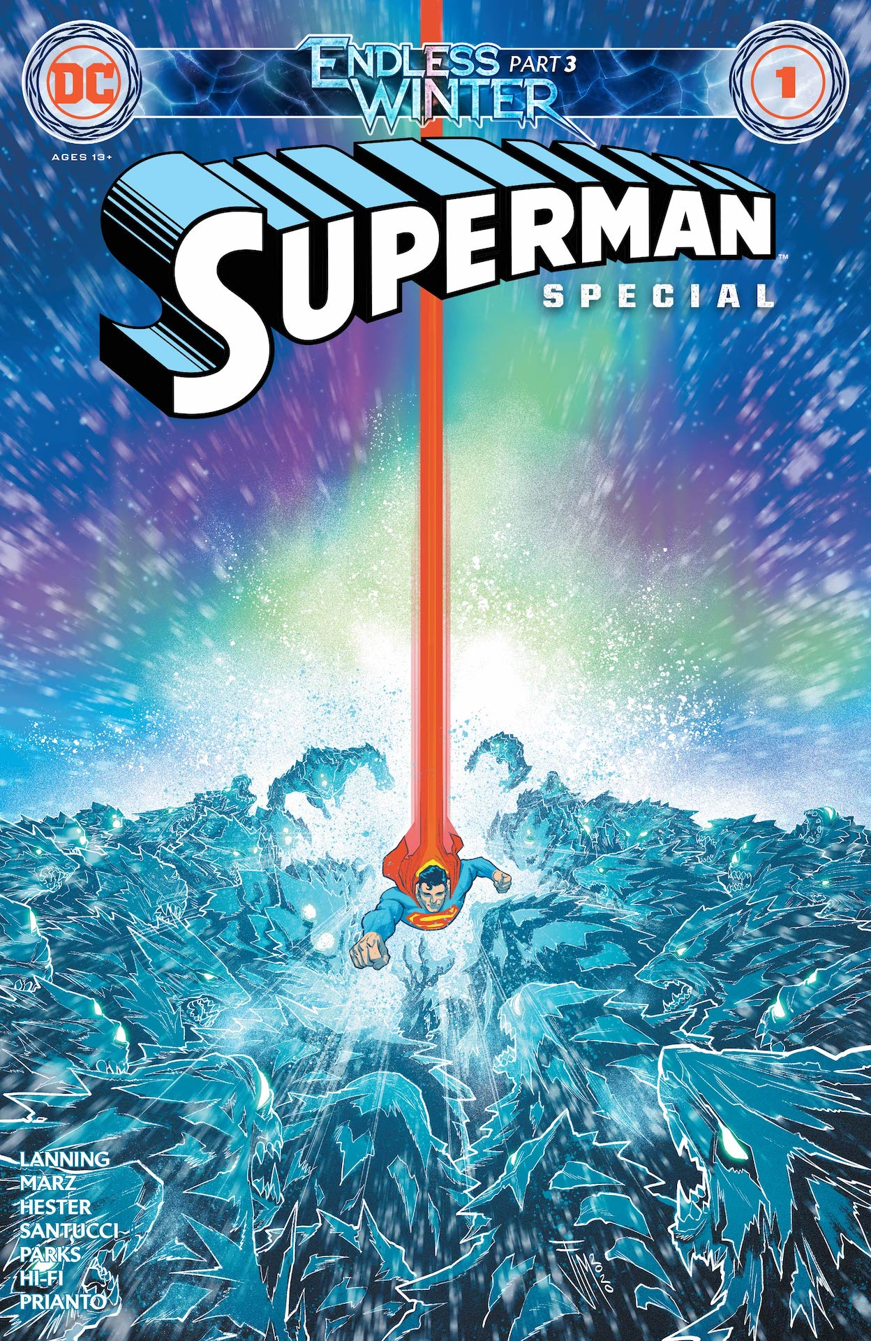 DC Preview: Superman: Endless Winter Special #1