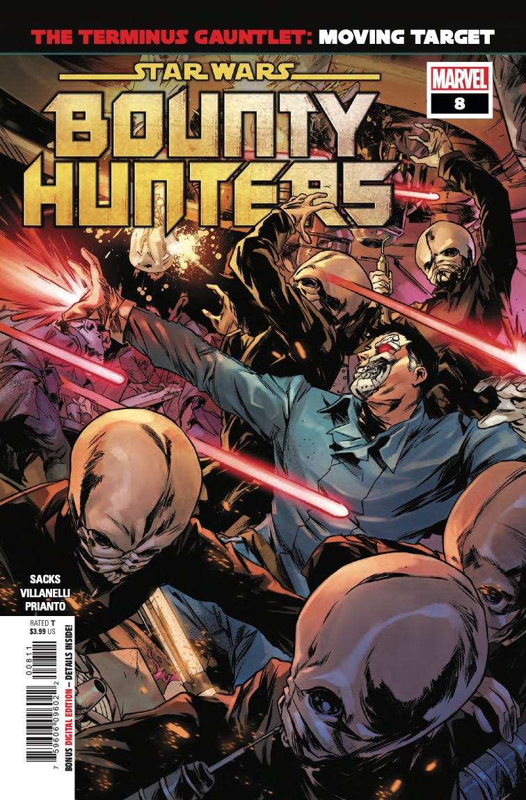 Marvel Preview: Star Wars: Bounty Hunters #8