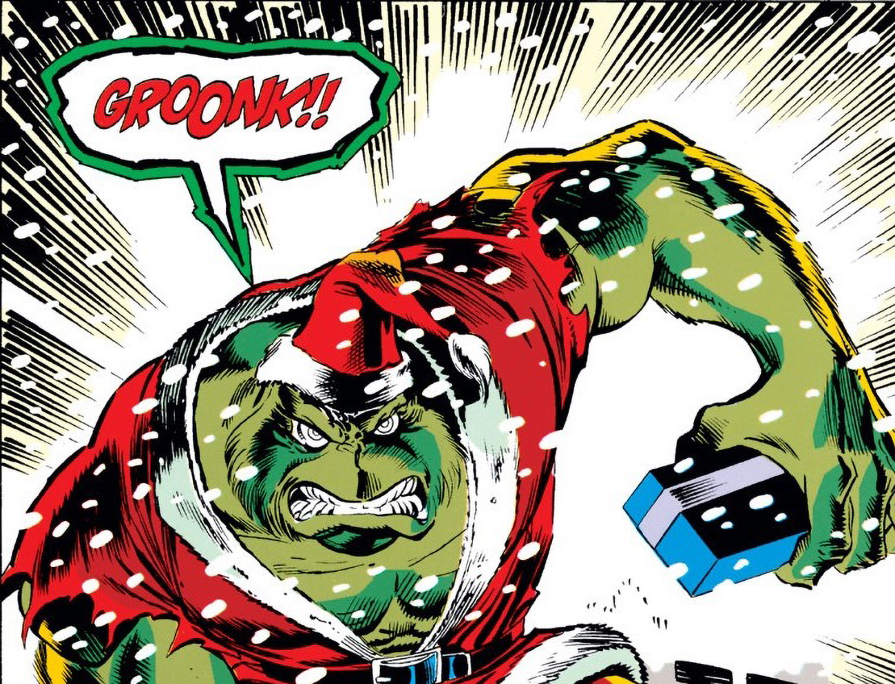 The Grinch not only exists in Marvel Comics, but fought Thor in 1992