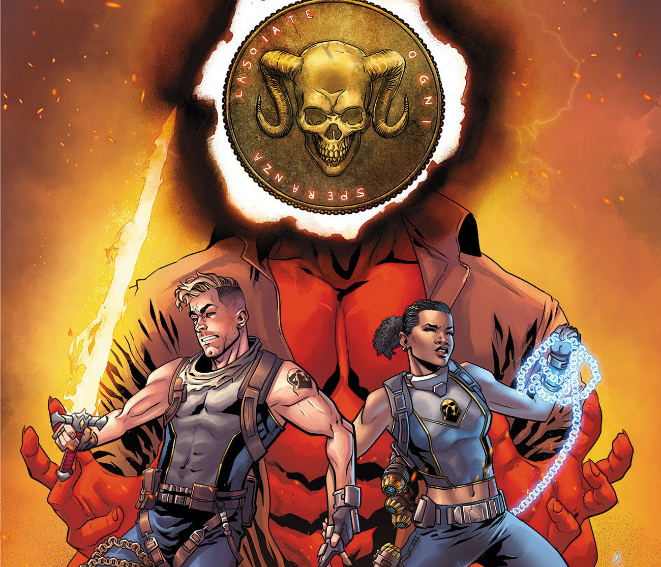 Image Comics launching new series 'Hell to Pay' live via Twitch