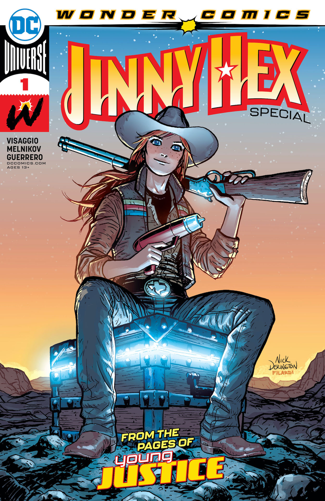 DC Preview: Jinny Hex Special #1