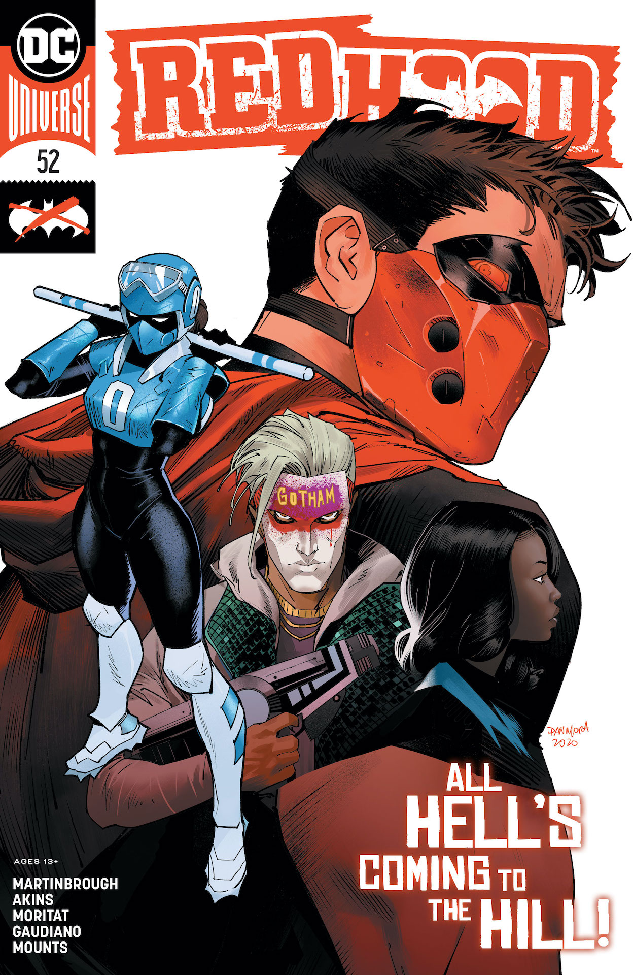 Red Hood: Outlaw (2016-) #52