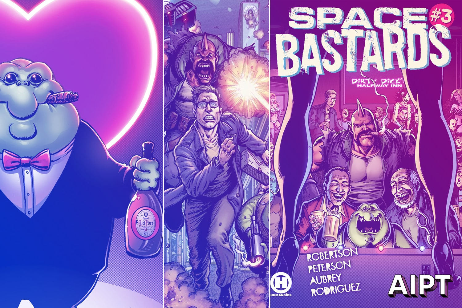 EXCLUSIVE Humanoids solicit reveal: Space Bastards #3 and #4
