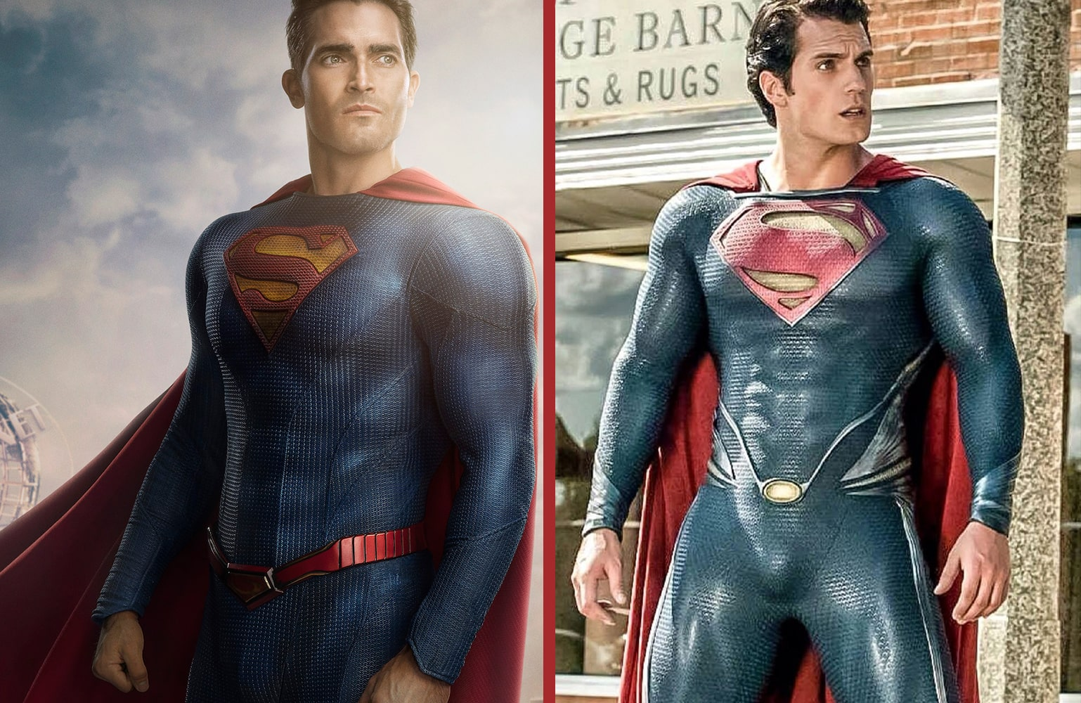 'Superman & Lois' First Look: New Superman costume revealed