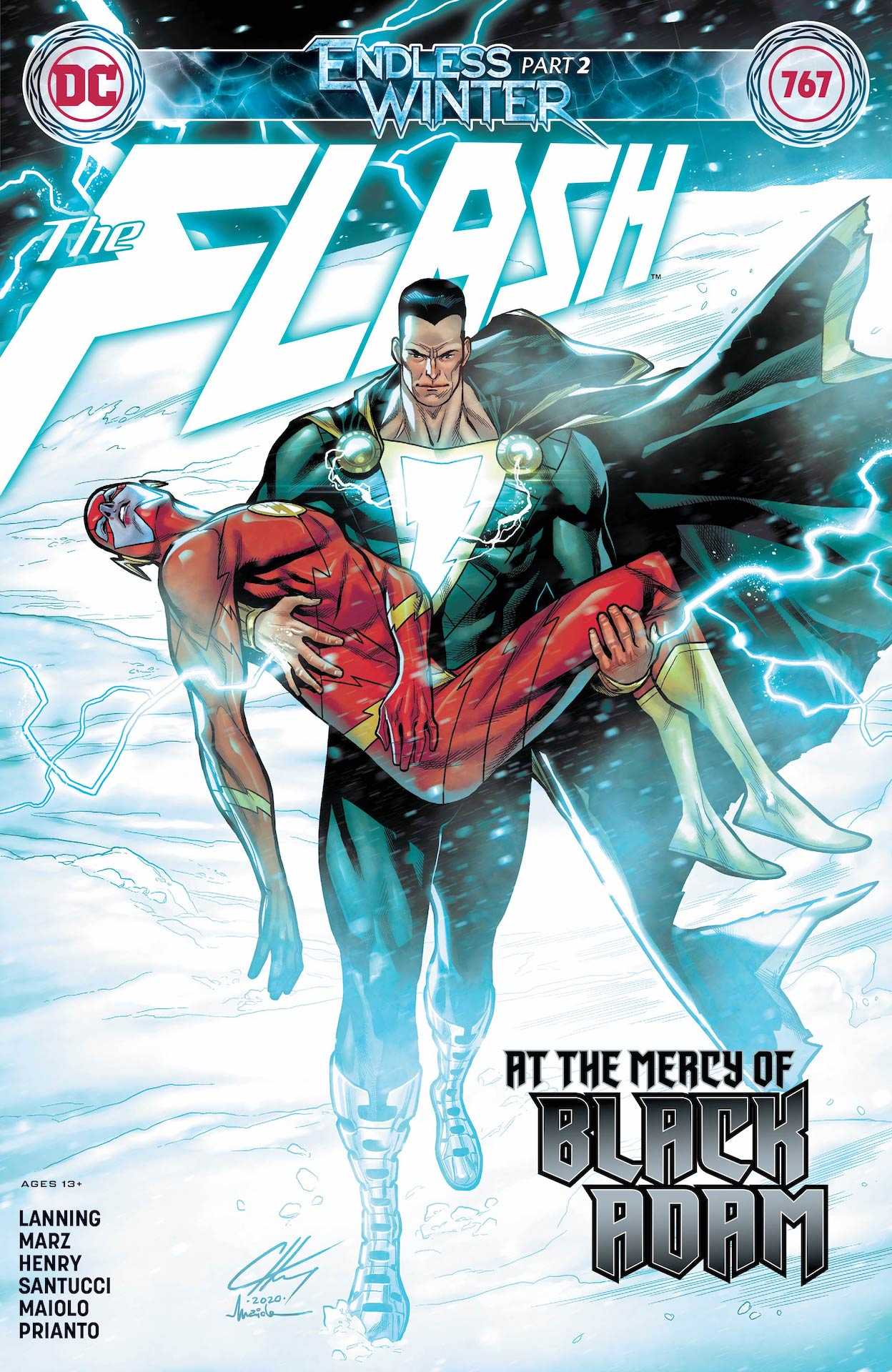 DC Preview: The Flash #767