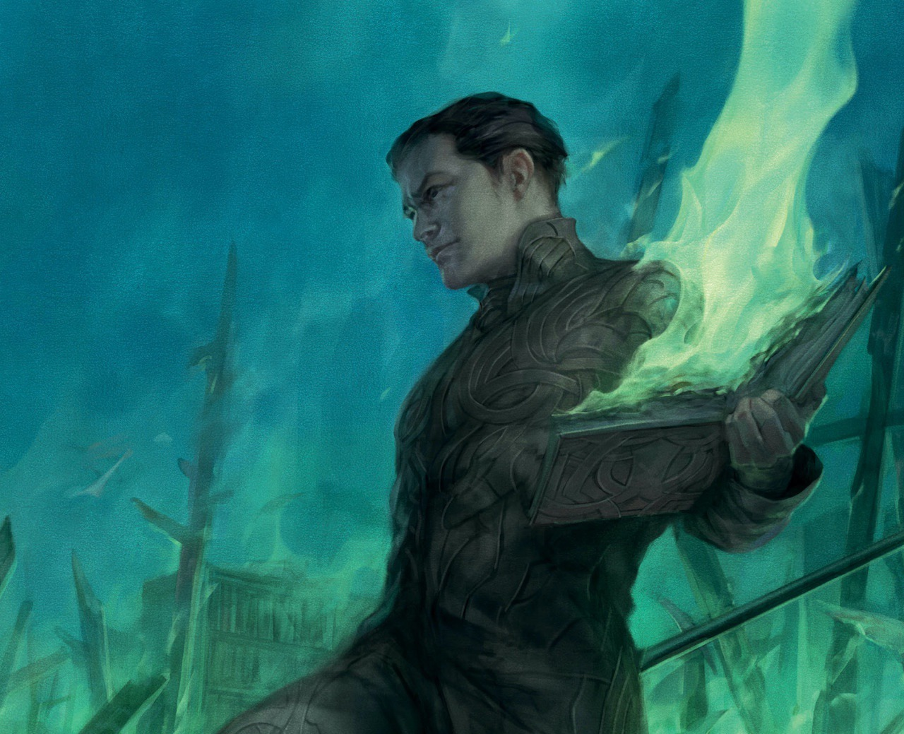EXCLUSIVE First Look: Triumph of the Wizard King Book 3 cover reveal