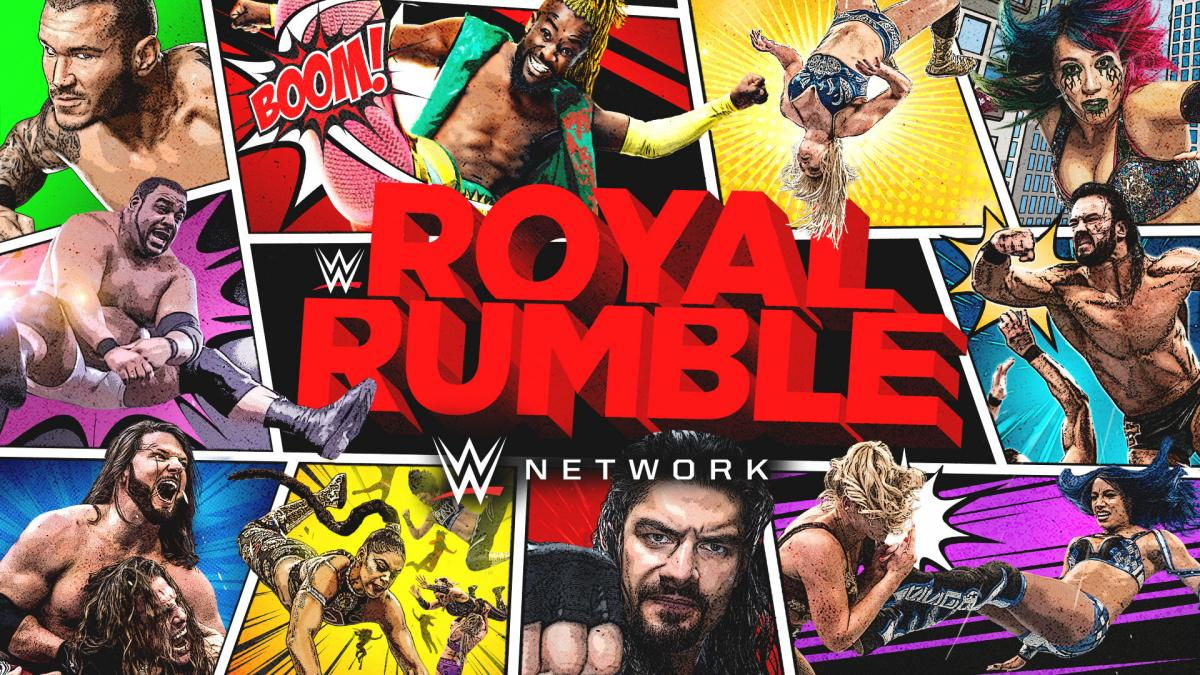 PTW Wrestling Podcast - Royal Rumble 2021