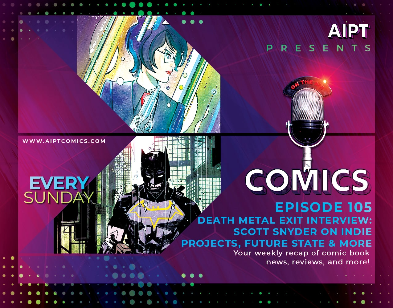 AIPT Comics Podcast Episode 105: 'Dark Nights: Death Metal' Exit Interview: Scott Snyder on DC, indie projects and more