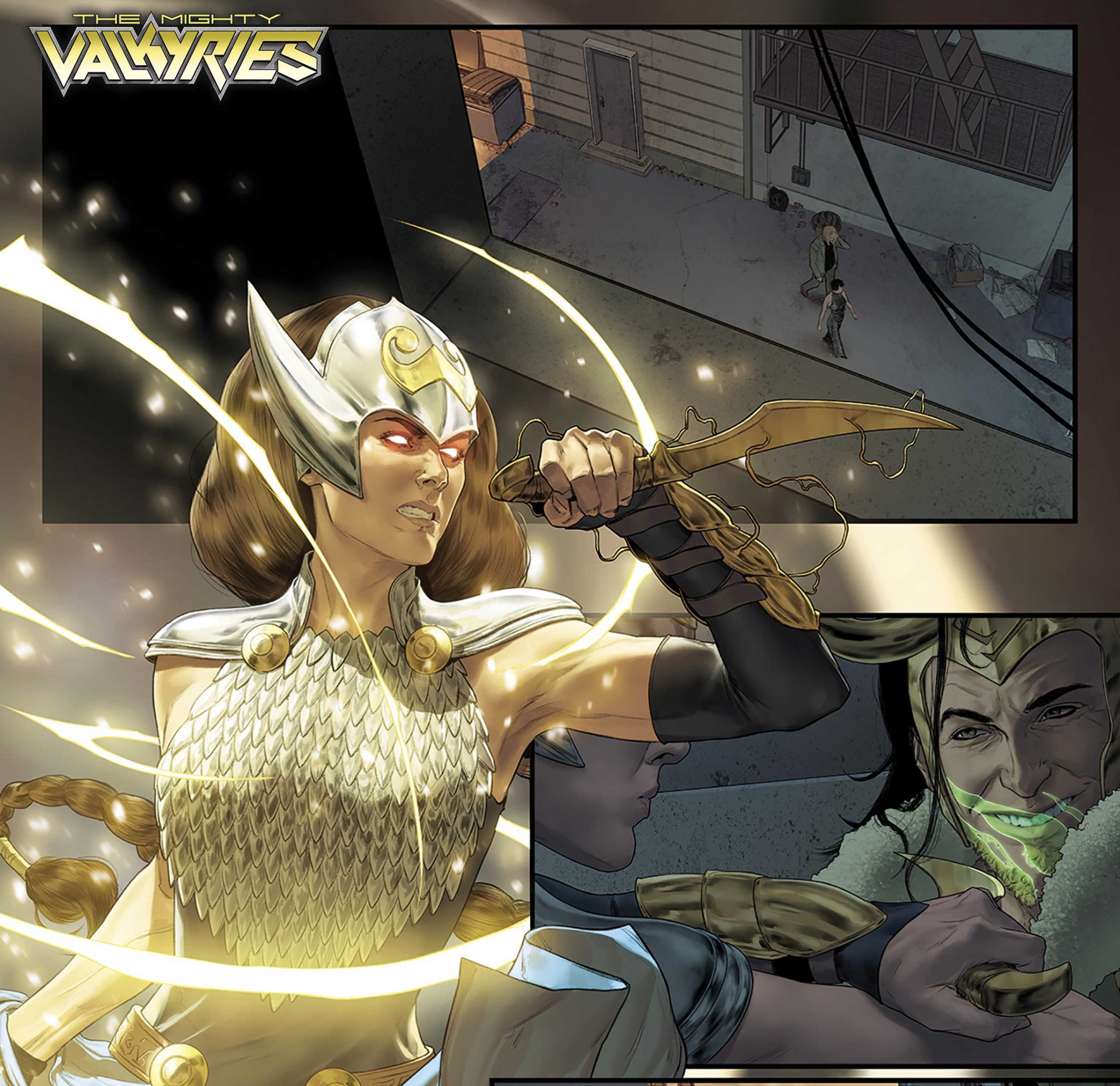 Marvel Comics launching 'The Mighty Valkyries' #1 April 2021