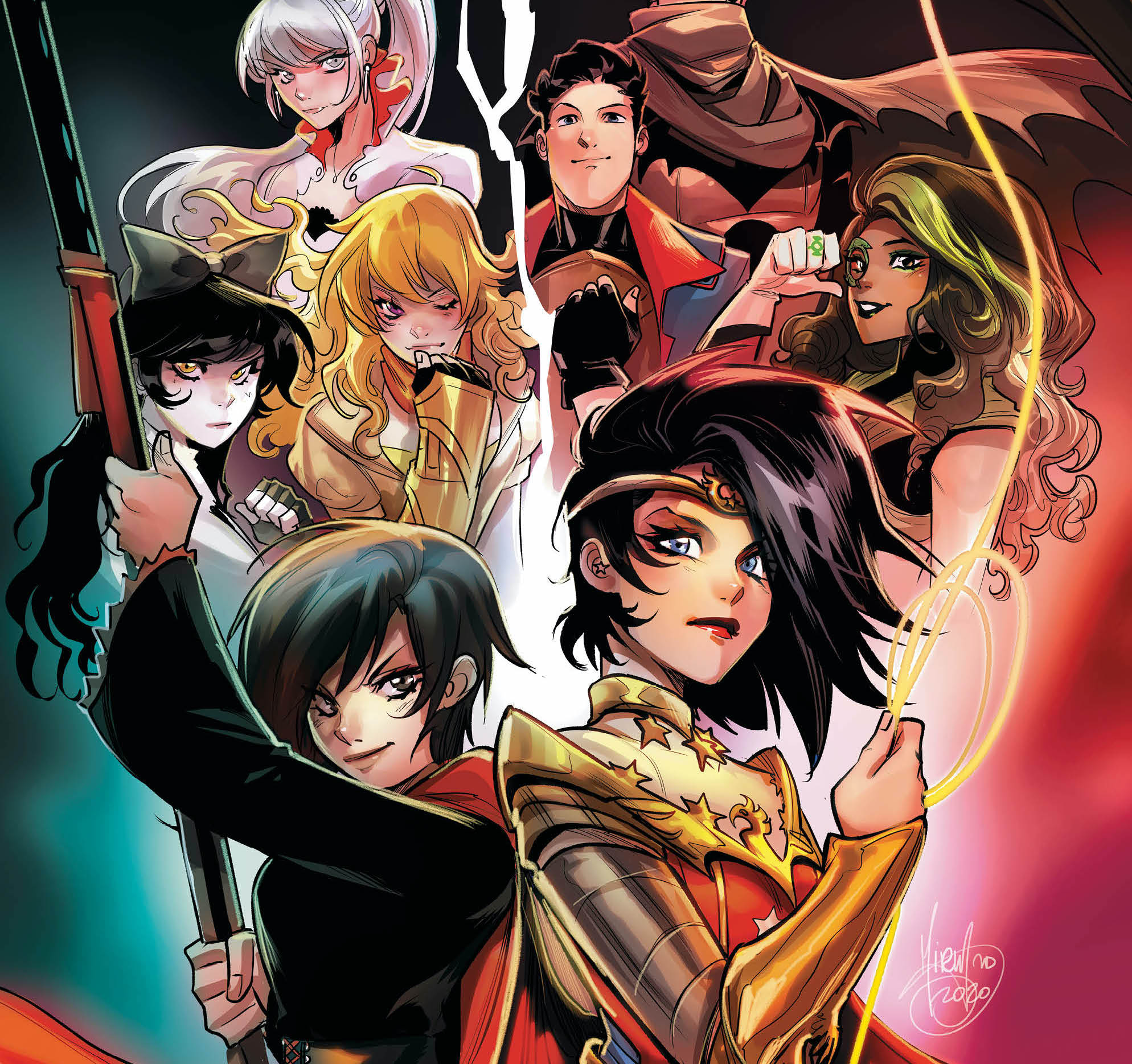 DC Comics and Rooster Teeth join forces for 'RWBY/Justice League'