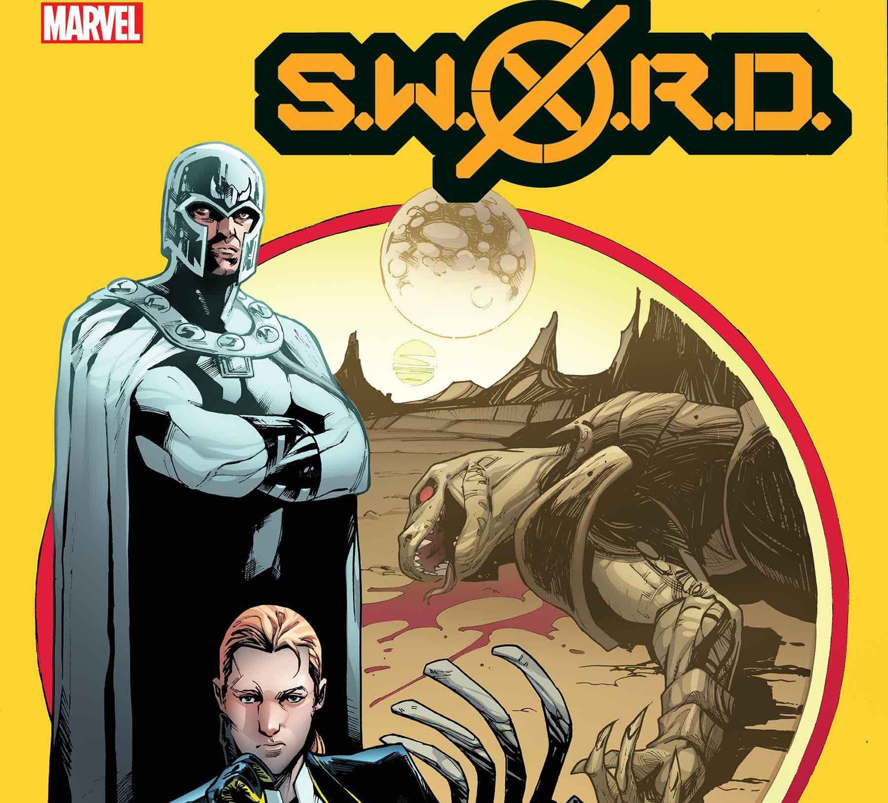 EXCLUSIVE First Look: S.W.O.R.D. #5 cover and solicit