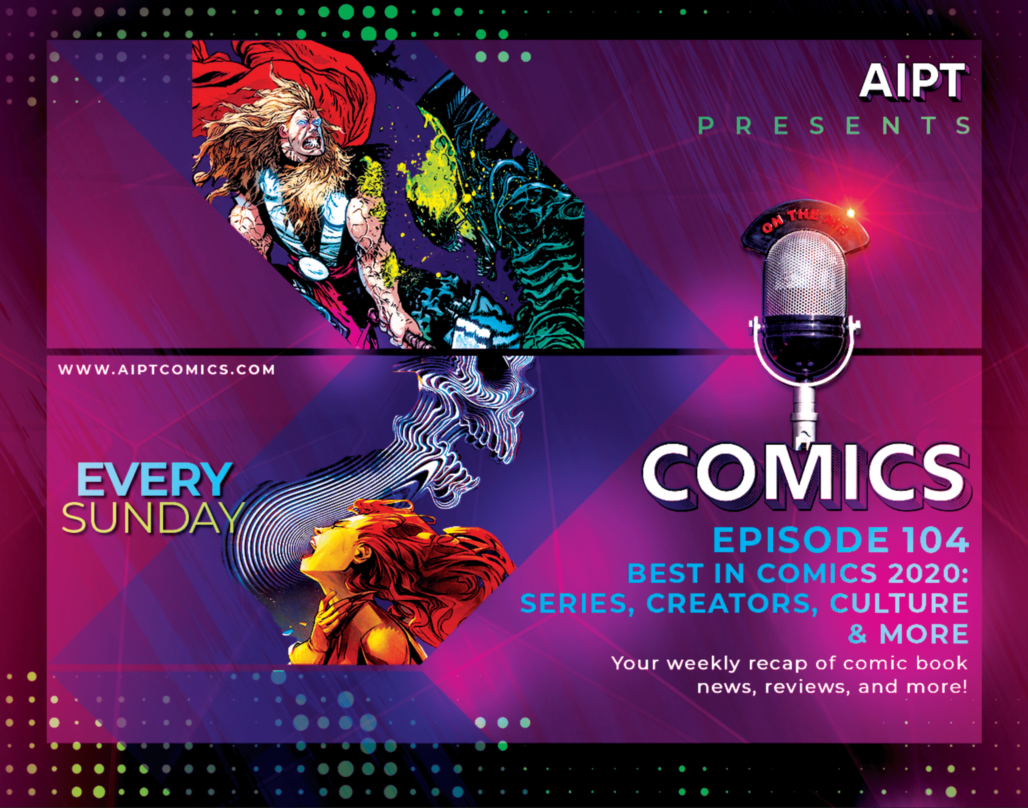 AIPT Comics Podcast Episode 104: Best in Comics 2020: Series, creators, culture & more