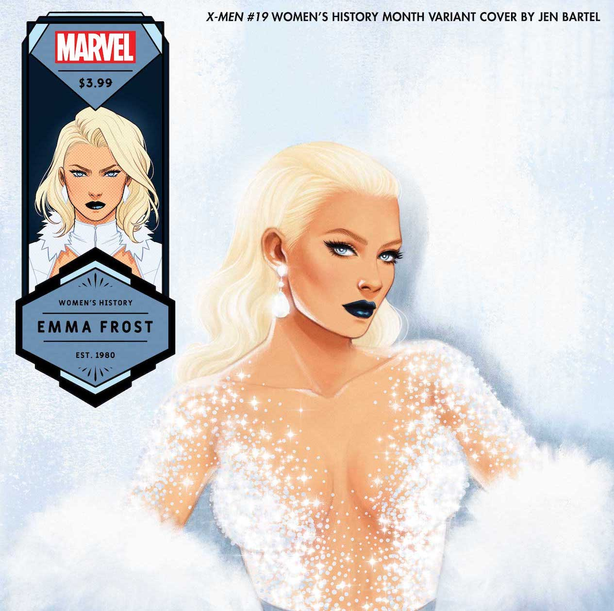 Jen Bartel dazzles with Women's History Month variant covers