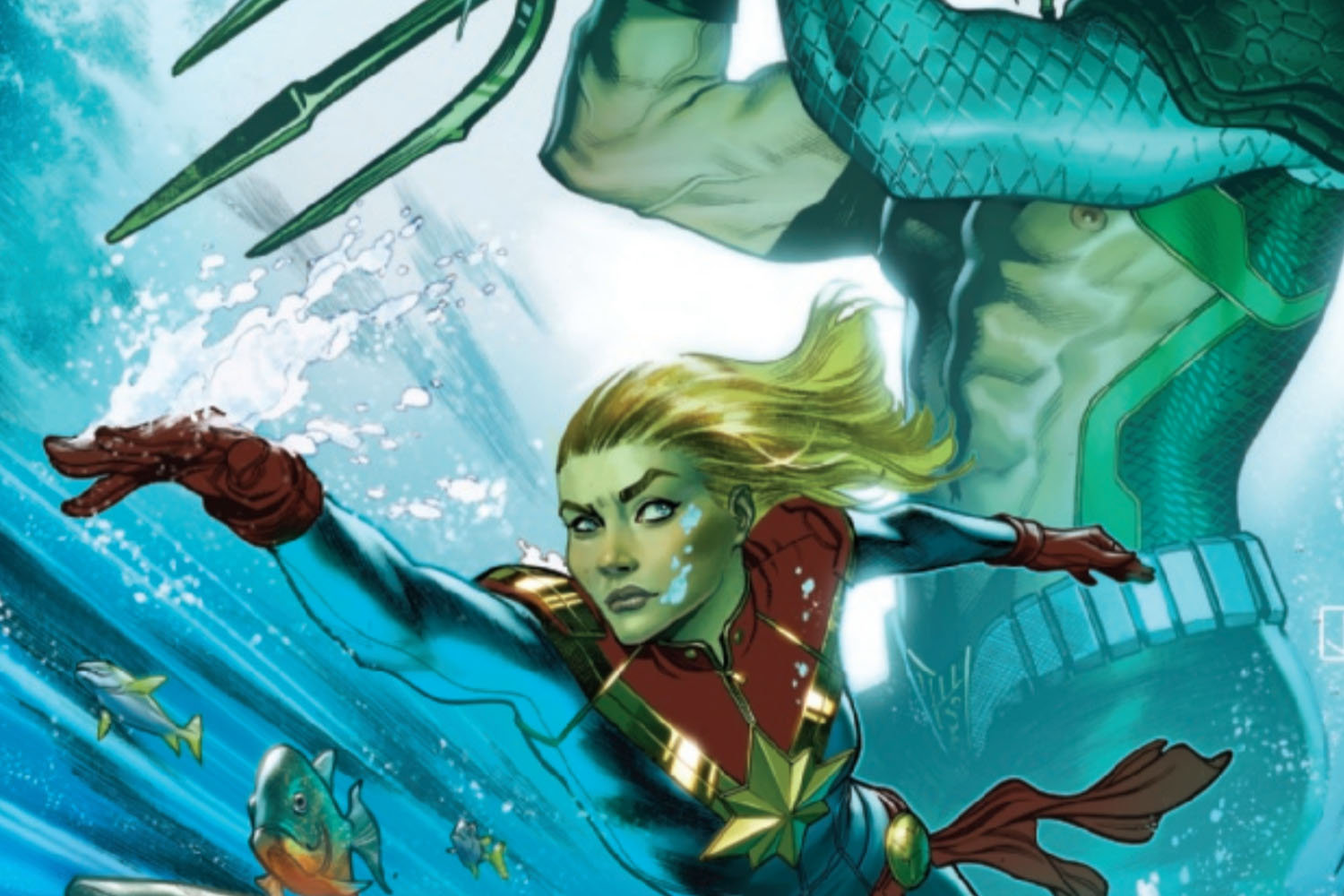 'Captain Marvel' #25 review