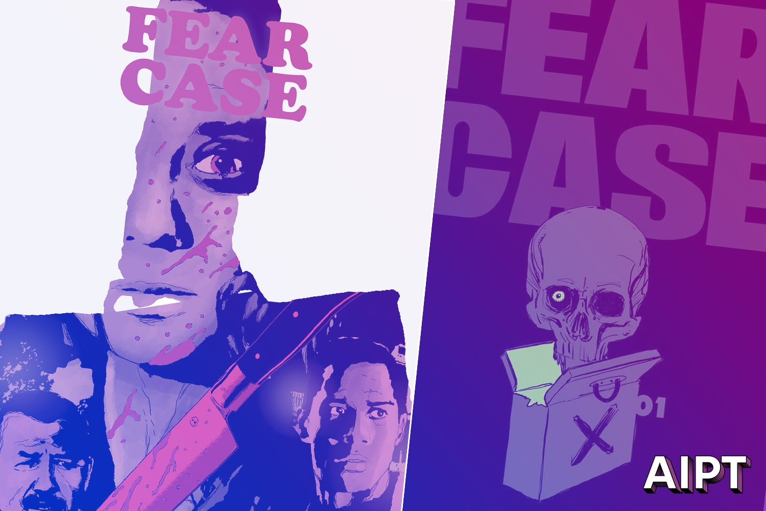 Dark Horse taps artist Andrea Sorrentino for 'Fear Case' 2nd printing cover