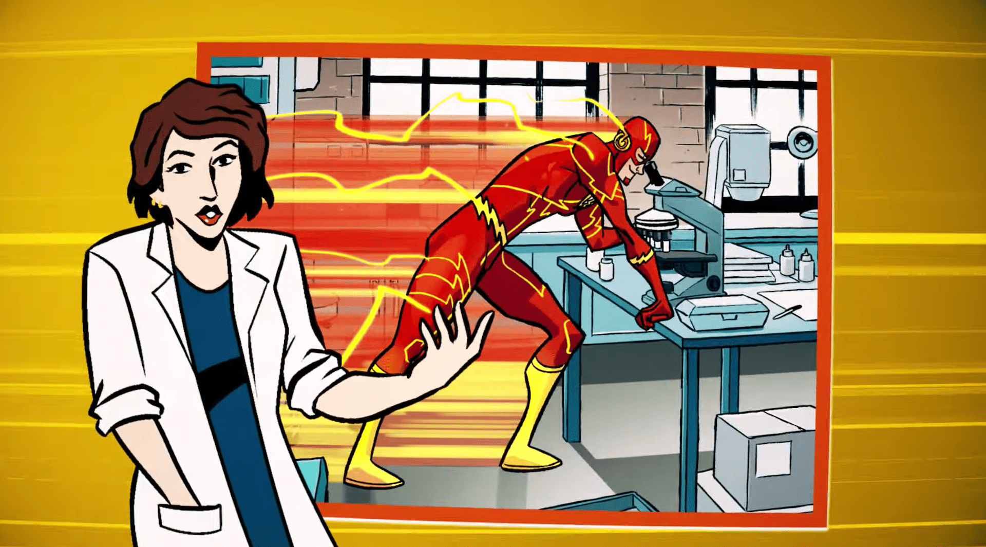 DC Comics launches 'Flash Facts' trailer ahead of February 2nd release