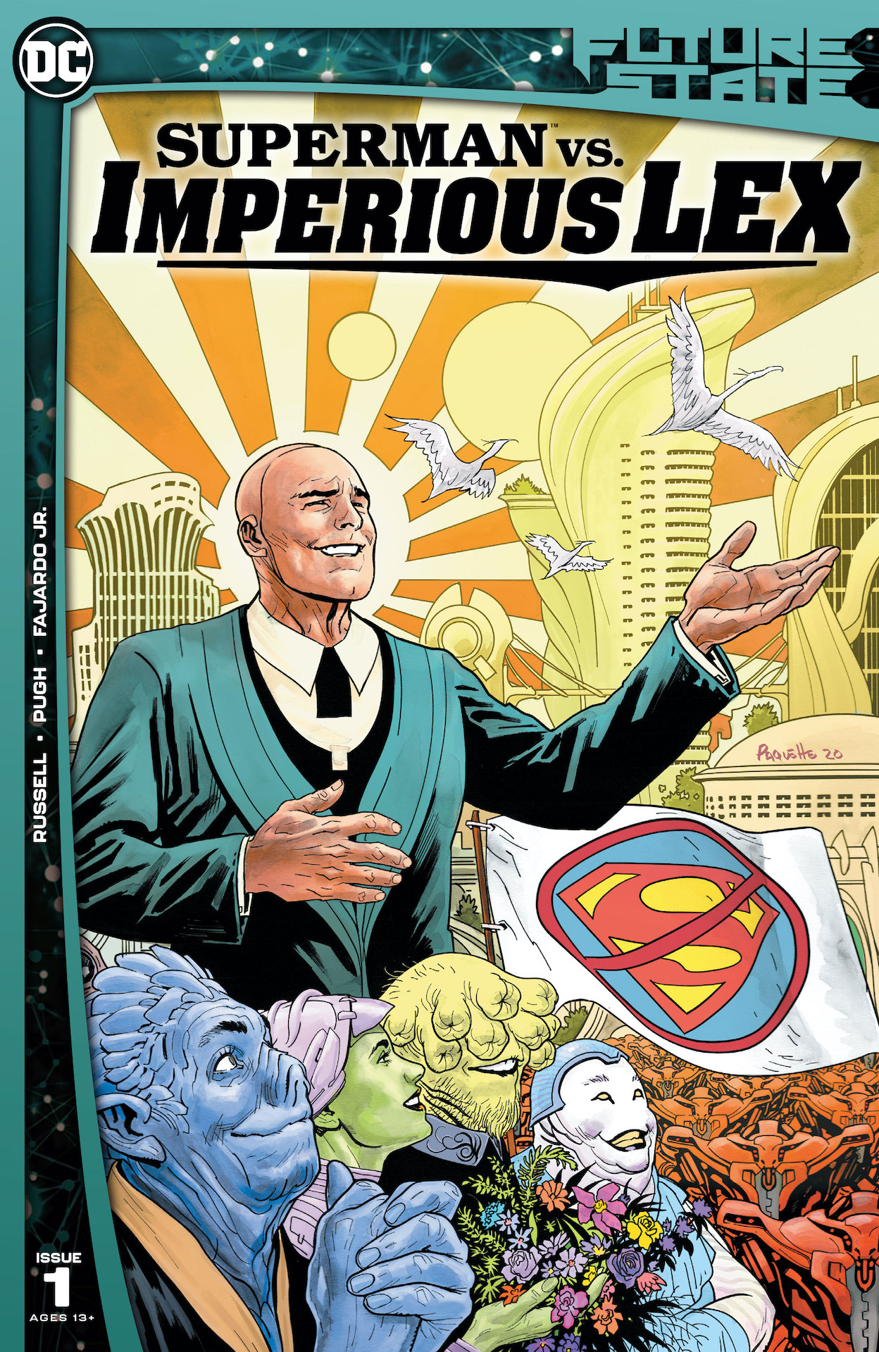 DC Preview: Future State: Superman vs. Imperious Lex #1