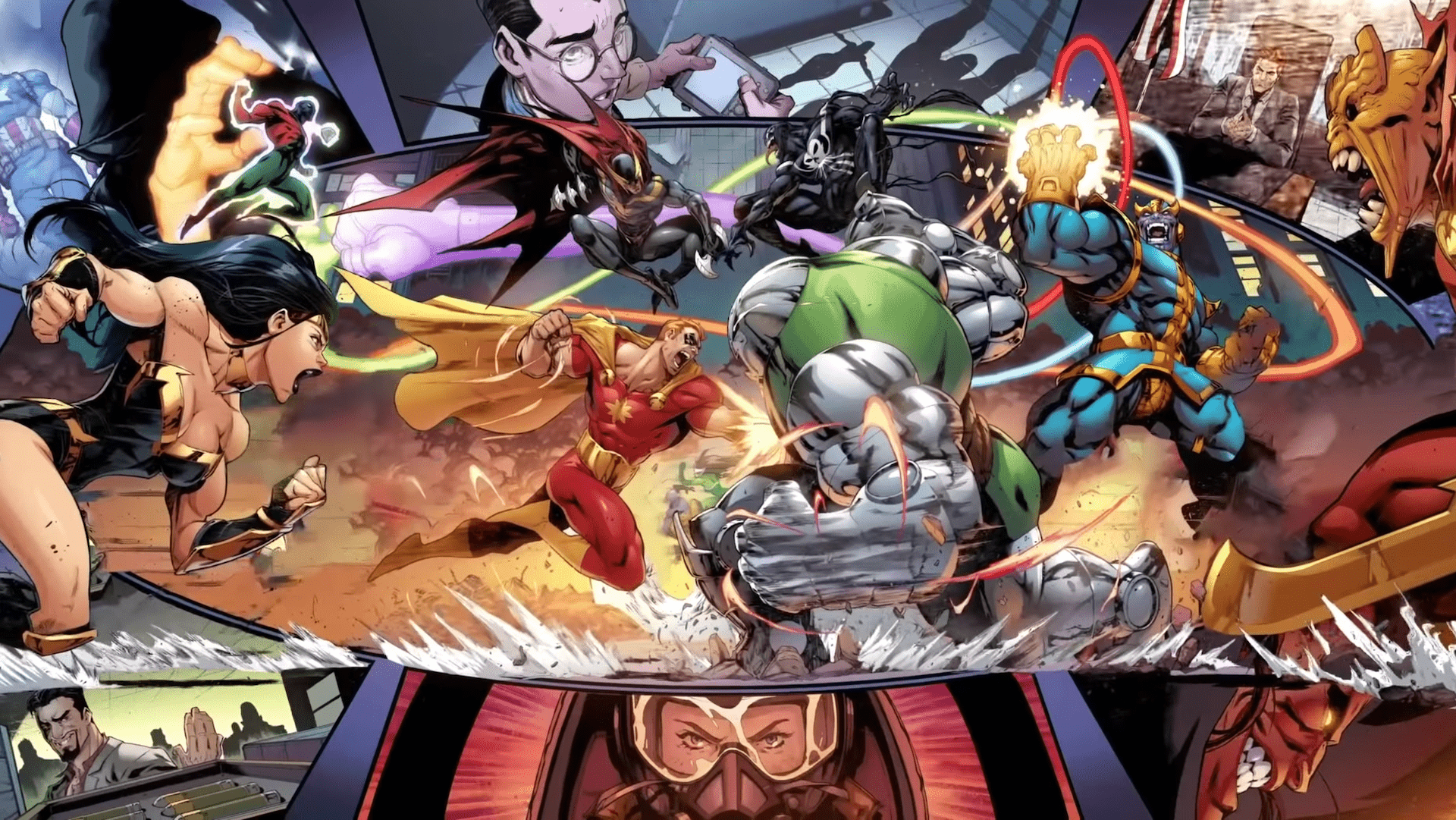 Marvel Comics drops 'Heroes Reborn' trailer revealing a world without the Avengers